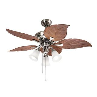 Kichler Lighting Casual Brushed Nickel 52 inch Ceiling Fan with 3-light Kit