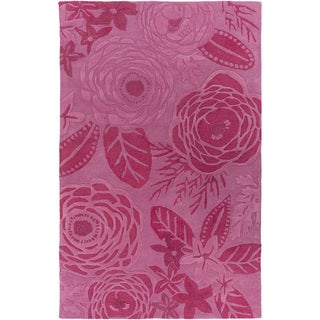 Kate Spain : Hand-Tufted Blaise Floral Indoor Rug (2' x 3')