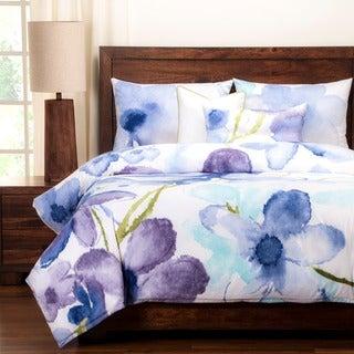 Painted Petals Luxury 6-piece Duvet Set
