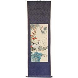 Pine and Crane Scroll (China)