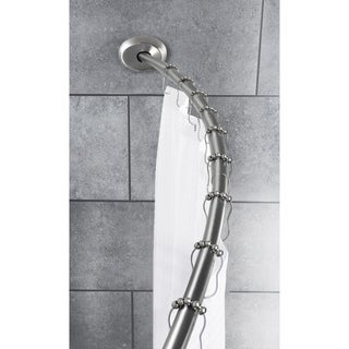Maytex Smart Curved No-Drill Shower Curtain Tension Rod
