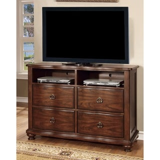Furniture of America Ceres Brown Cherry Media Chest