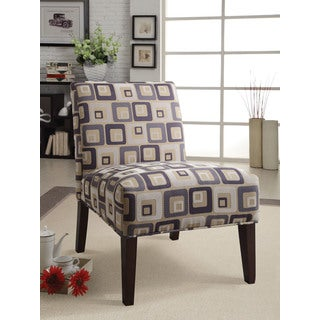 Aberly Accent Chair, Square Pattern