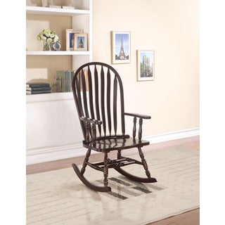 Kloris Cappuccino Rocking Chair