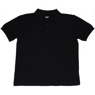Genuine School Uniform Children's Unisex Short Sleeve Pique Polo Shirt