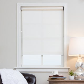 White Continuous Chain Solar Shade