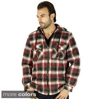 Men's Sherpa Lined Flannel Jacket