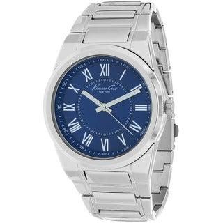 Kenneth Cole Men's KCW3031 Classic Round Silvertone Bracelet Watch
