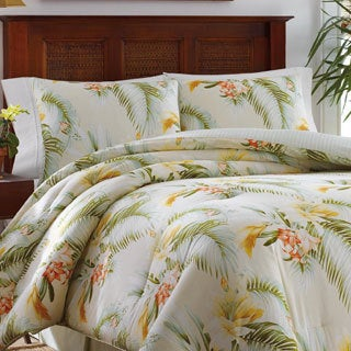 Tommy Bahama Beachomber Gold Cotton 4-piece Comforter Set