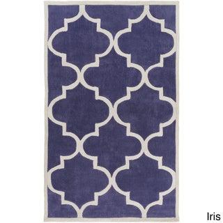 Artfully Crafted Mya Geometric Polyester Area Rug-(3'6 x 5'6)