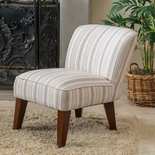 Christopher Knight Home Castaic Fabric Slipper Chair