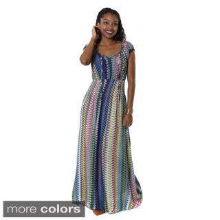 Hadari Women's Tribal Maxi Dress