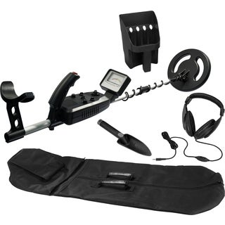 Master Edition Metal Detector w/Carrying Case, Headphone, Sifter and Shovel