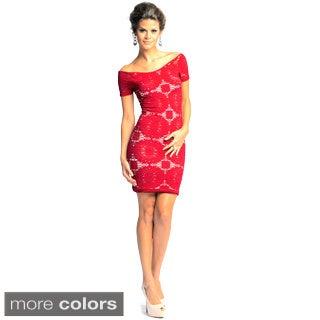 Sara Boo Women's Seamless Lace Dress