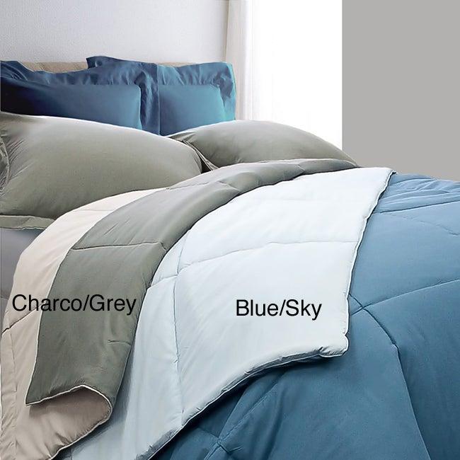 All Season Reversible Down Alternative 3-piece Comforter Set