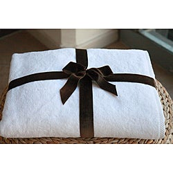 Authentic Hotel and Spa Plush Turkish Cotton  Bath Sheet