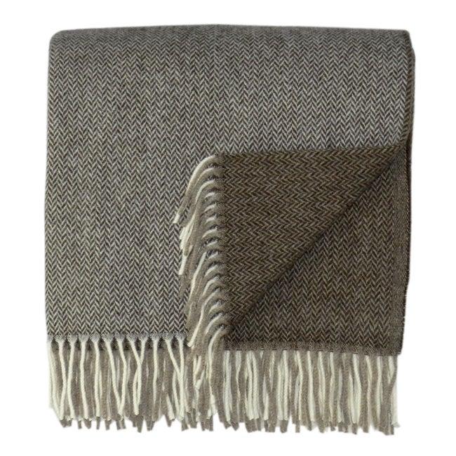 Bocasa Duo Woven Cashmere Blanket