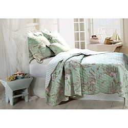 Bora Bora 3-piece Quilt Set