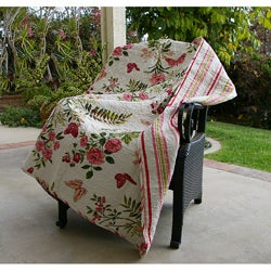 Butterflies Quilted Throw