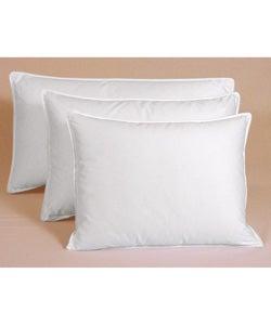 Egyptian Cotton 375 Thread Count Siberian White Down Pillow