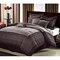 Florence 8-Piece Plum Comforter Set