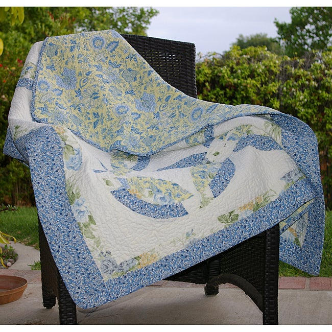 Greenland Home Fashions Francesca Quilted Throw
