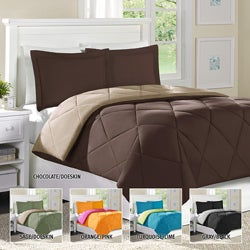 Home Essence Columbine Full/ Queen-size Down Alternative 3-piece Comforter and Sham Set