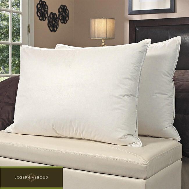 Joseph Abboud 400 Thread Count High Loft Enhanced Pillows (Set of 2)