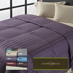 Joseph Abboud Classic Wide Stripe 400 Thread Count Down-Like Comforter