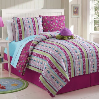 Khloe Reversible 4-piece Comforter Set
