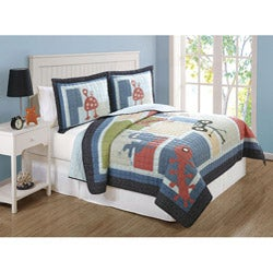 Funny Friends 3-piece Mini Quilt Set