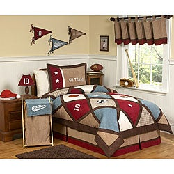 Sweet JoJo Designs All Star Sports 3-piece Boys Queen-size Quilt Set