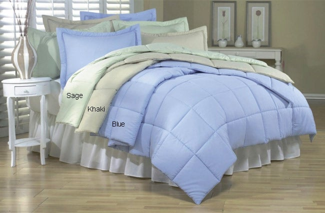 Microfiber Down Alternative Comforter Set (Case of 2)