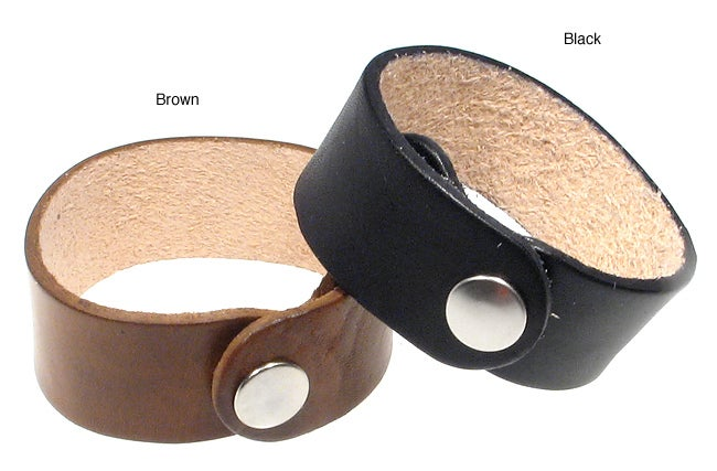 1-inch Leather Wrist Band