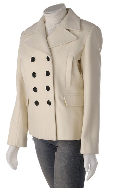 Marvin Richards White Peacoat