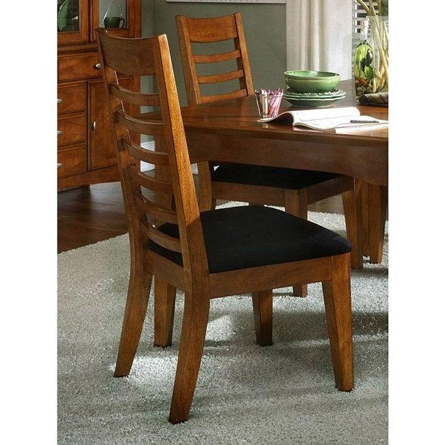 Kathy Ireland Dining Room Set: Kathy Ireland Soho Amber Table And Four Chairs