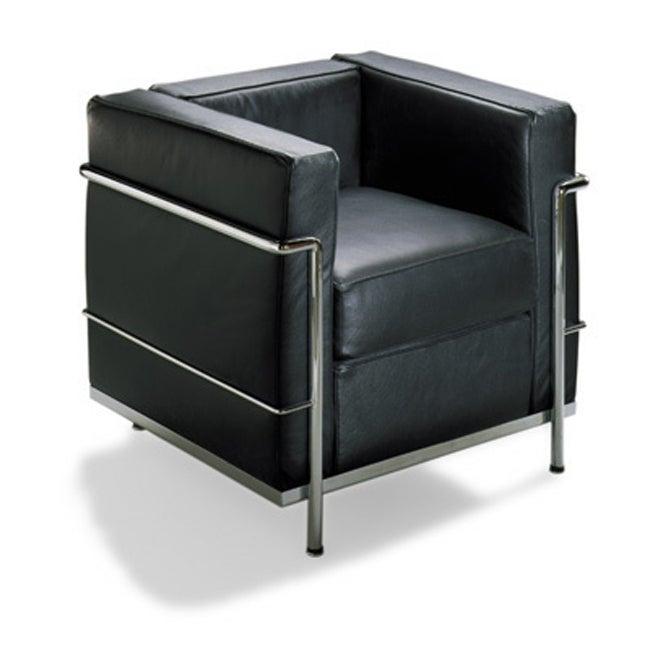 Mason Black Leather Chair