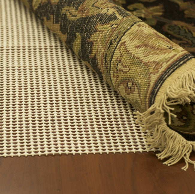 Cushioned Non-Slip Rug Pad for Floors (8' x 11')