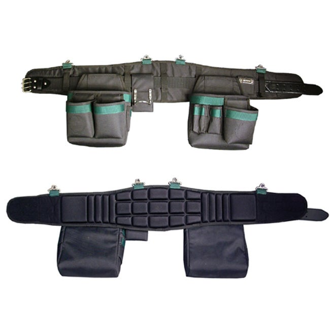 Electrician's Tool Belt With Back Support