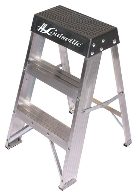 Aluminum 2 Foot 300 Pound Rating Step Ladder Overstock