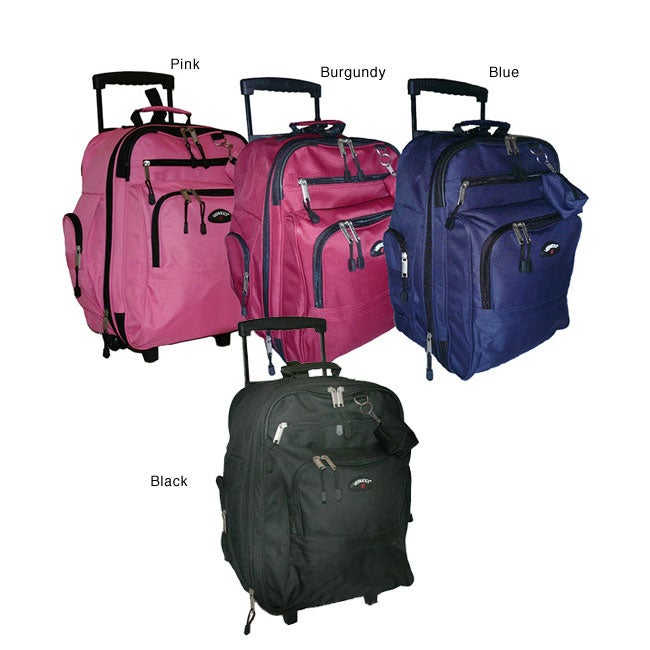 Verucci Flight Carry-On Rolling Backpack
