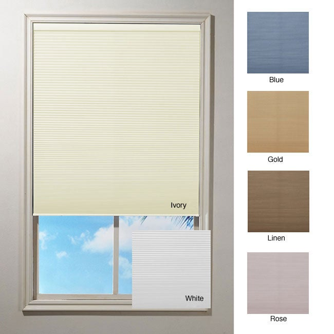 Cordless Honeycomb Cellular Window Shade (39 in. x 64 in.)