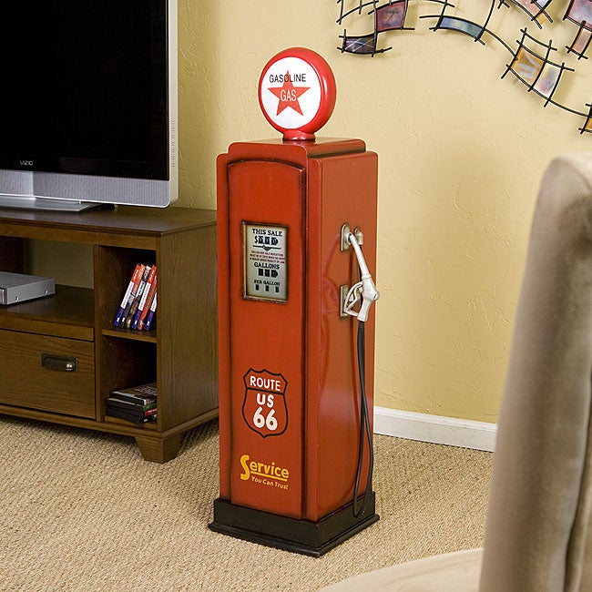 Route 66 Media Storage Cabinet