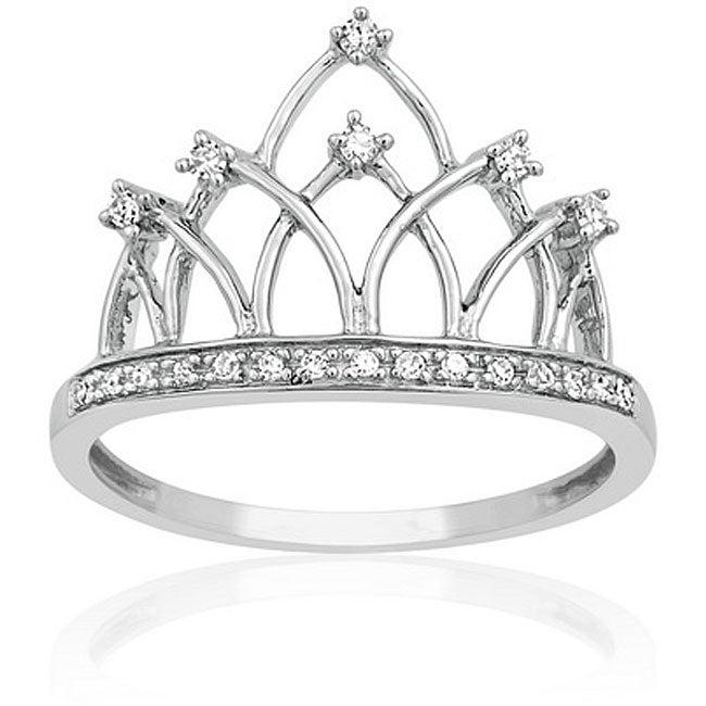 Shopping Product  Q Princess Crown Rings