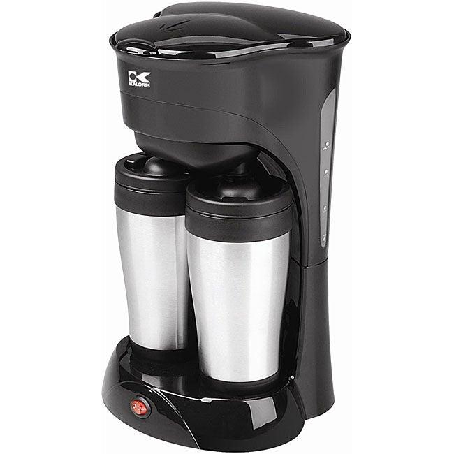 Kalorik Coffee Maker Reviews Ratings : Kalorik Duo Coffee Maker - Overstock Shopping - Top Rated Kalorik Coffee Makers