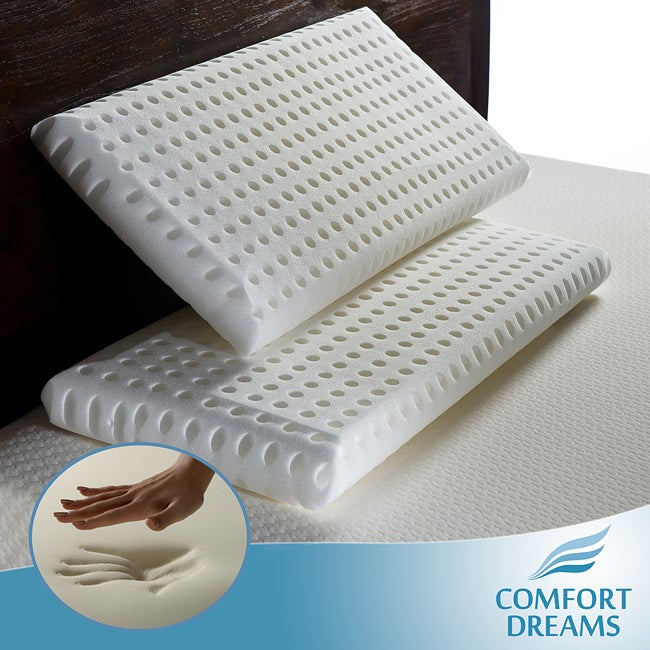 Comfort Dreams Super Soft Elite Feel King-size Memory Foam Pillows (Set of 2)