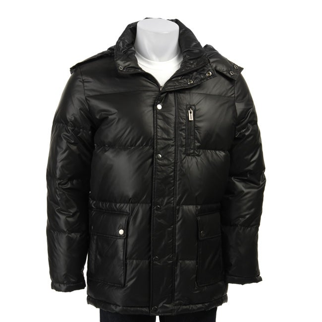 Guess Men's Black Down Jacket