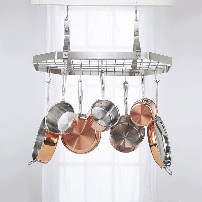 Cuisinart CRC-29B Octagonal Hanging Cookware Rack