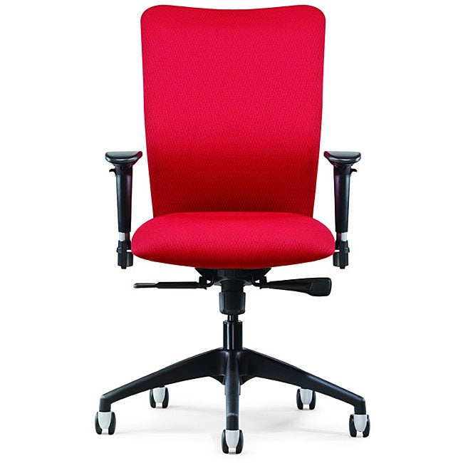 Allseating Inertia Red Midback Task Chair