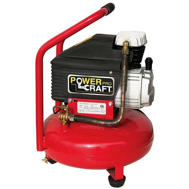 Red Pancake 2.5-horsepower 4-gallon Air Compressor
